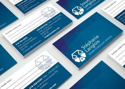 Logo et carte d'affaires